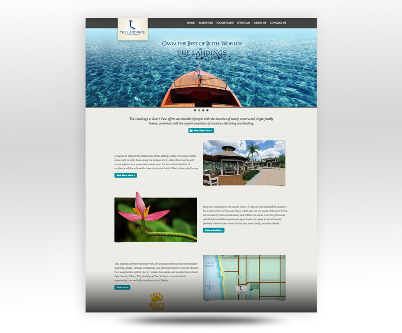 home web design. LandingsNaples Com Website Design Bonita Springs Web  LW Marketing Consulting