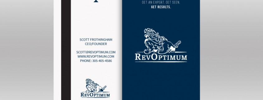 Rev Optimum Business Cards